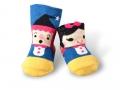 貝寶童話公主短襪(寬口)