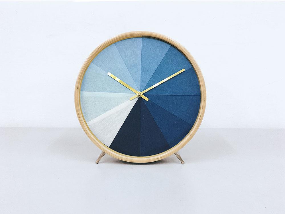 太平藍_藍染掛鐘