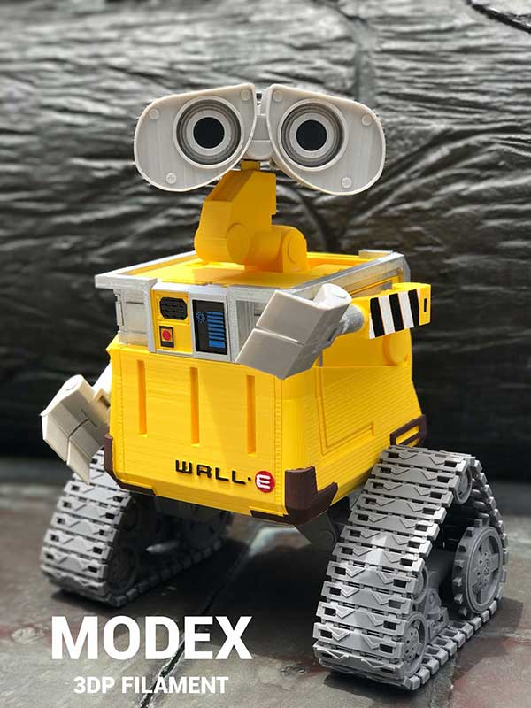 3D列印瓦力機器人